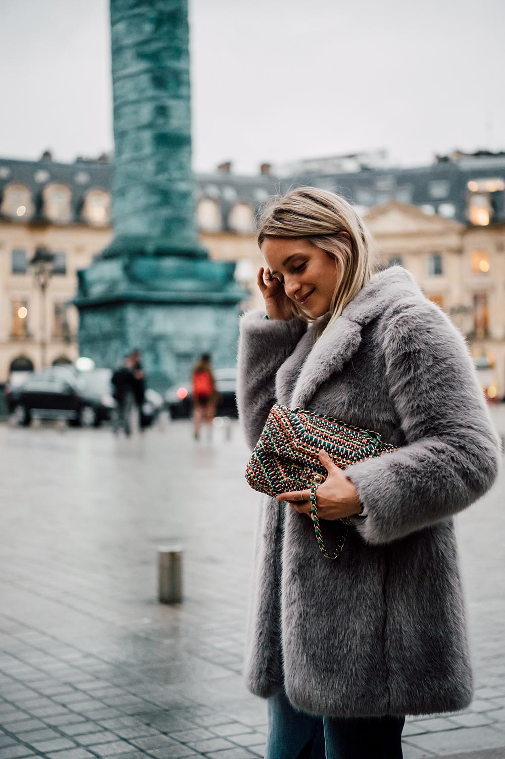 Chanel tweed bag Charlotte Groeneveld Thefashionguitar