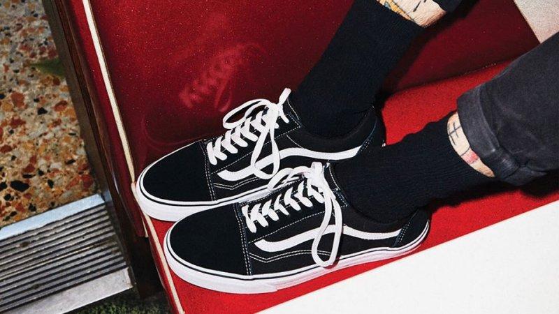 timeless vans sneakers