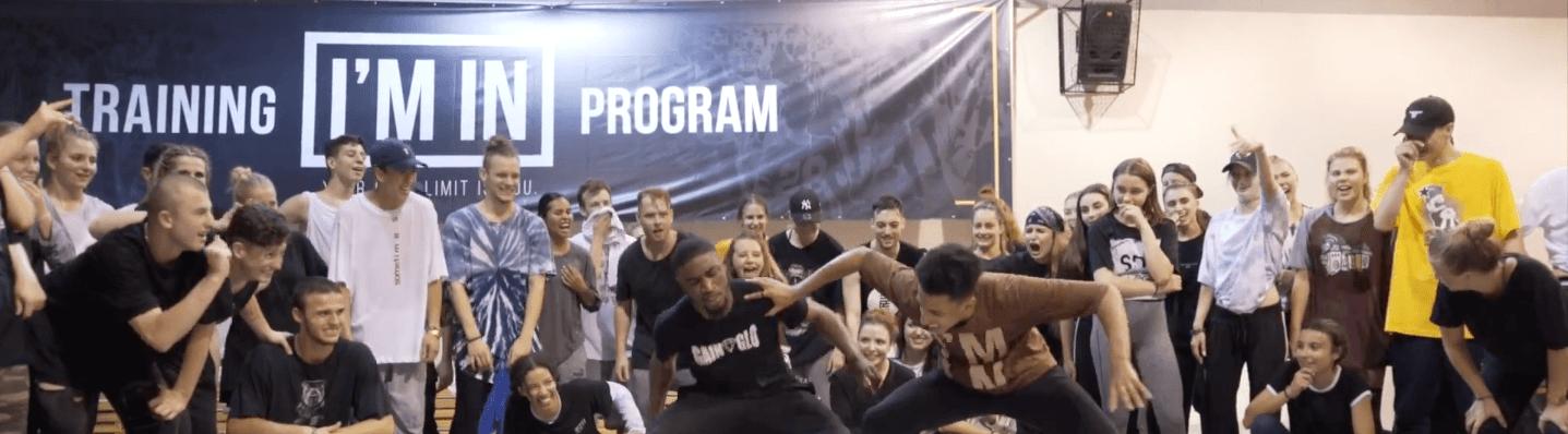 Homebros X Jfunk dancing at IM IN Poland