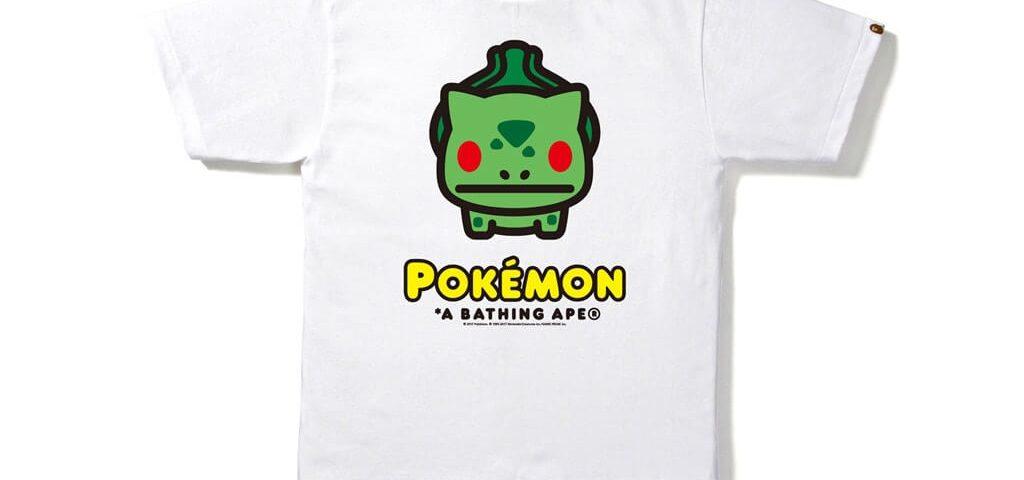 Bape x Pokemon Pikachu Big Ape T shirt taille XXL