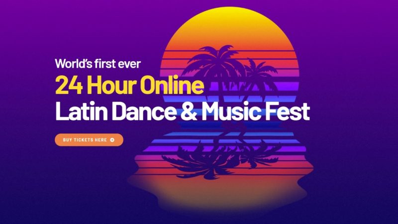 24 hr Latin dance festival